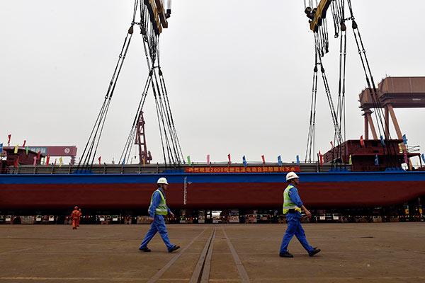 Китайская компания спустила на воду первое в мире электросудно — Агентство Бизнес Новостей — Ремонт дома