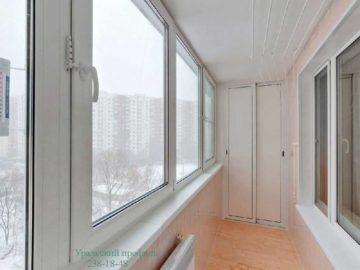 Внутренняя отделка балкона, лоджии